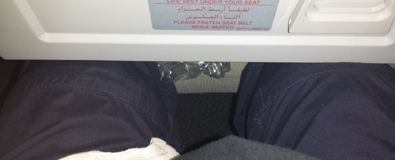 Why Emirates are not for tall people…